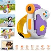 1.5インチカラースクリーンミニ子供キッズカメラ5メガピクセルの高精細面白いデジタルビデオカメラ@ jh