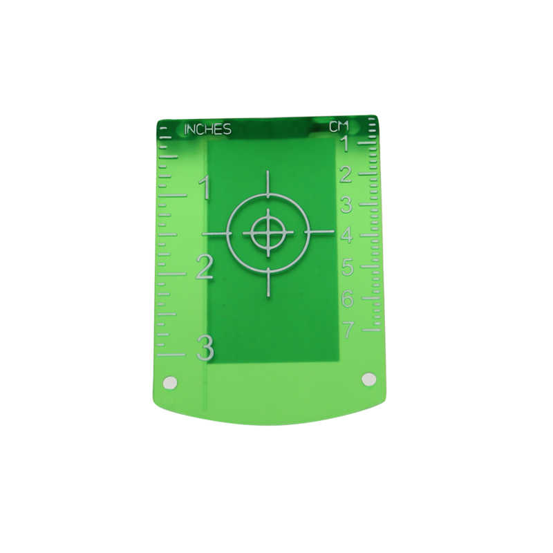 Magnetic Laser Target Card Plate for Green or Red lines Laser Level laser target board or plate laser level