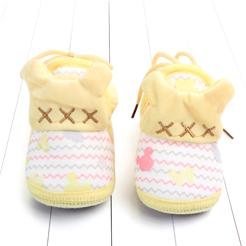 Indoor First Walkers Baby Shoes Cotton Anti-slip Booties Winter Wammer Baby Girl Boy Shoes Newborn Slippers Footwear Booties (37)