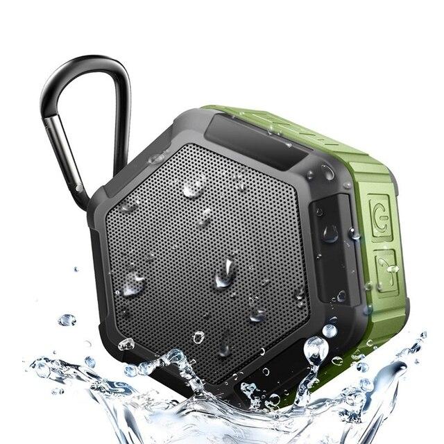 IP65 Impermeabile Bluetooth Altoparlante Subwoofer Potente Mini Altoparlante Portatile Senza Fili Per Telefono Esterno Scatola di Musica del Gioco
