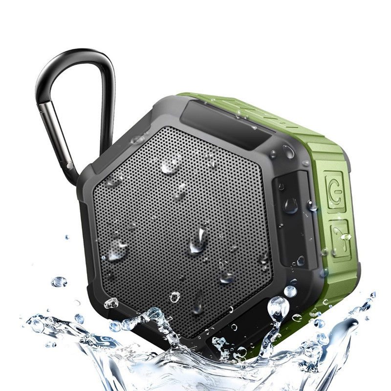 IP65 Waterproof Bluetooth Speaker Subwoofer Powerful Mini Portable Wireless Speaker For Outdoor Phone Play Music Box-in Portable Speakers from Consumer Electronics