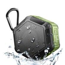 IP65 مقاوم للماء سمّاعات بلوتوث مضخم صوت قوي صغير سماعة لاسلكية محمولة للهاتف في الهواء الطلق لعب صندوق تشغيل الموسيقى