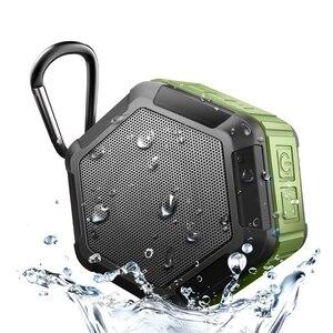 Image 1 - IP65 مقاوم للماء سمّاعات بلوتوث مضخم صوت قوي صغير سماعة لاسلكية محمولة للهاتف في الهواء الطلق لعب صندوق تشغيل الموسيقى