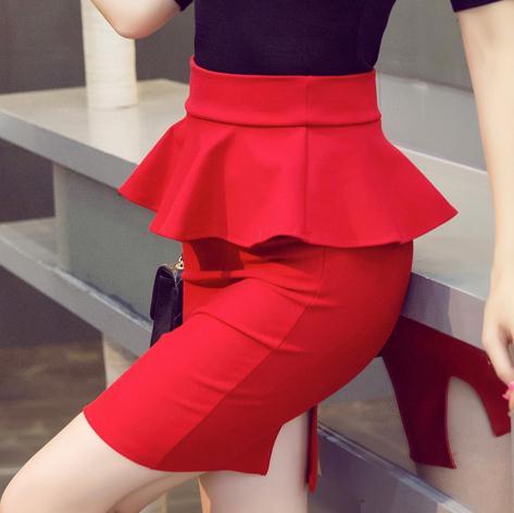 Online Get Cheap Pencil Skirt Red -Aliexpress.com   Alibaba Group
