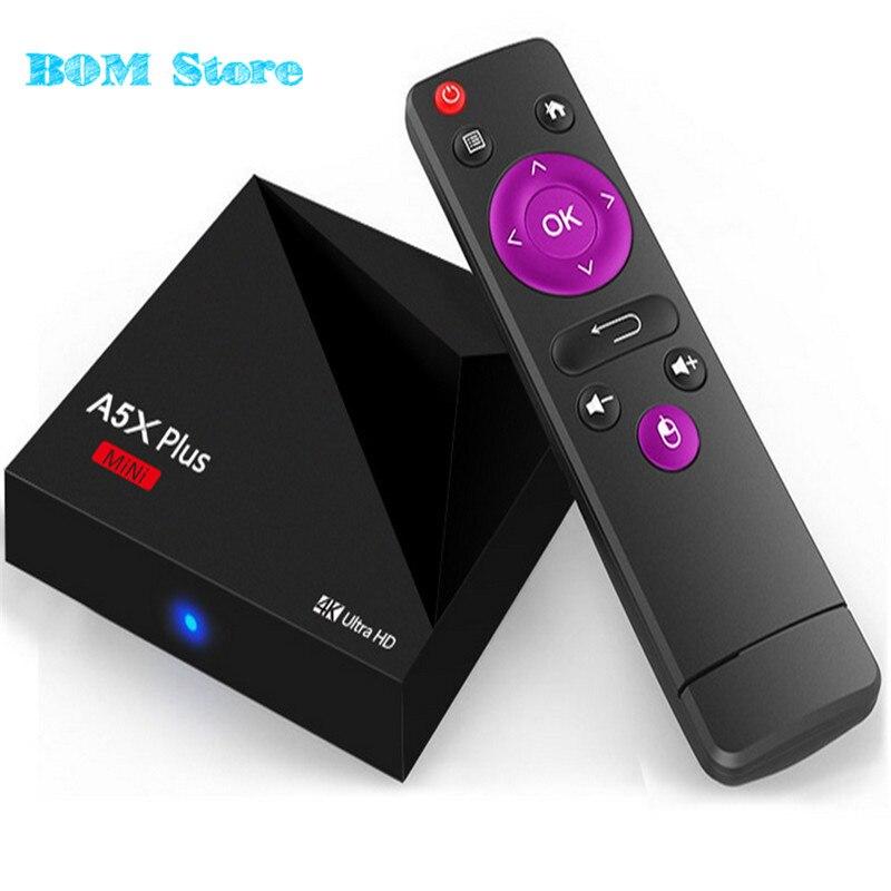 Mini Android 7.1 Nougat A5X Plus RK3328 Rockchip TV BOX 1GB 8GB 2.4G WIFI 100M LAN HD2.0 USB3.0 4K VP9 HDR10 Media Player мобильный телефон zte v5 v5 wcdma msm8926 android 4 4 5 hd 1280 x 720 1gb 2gb 4gb 8gb 13