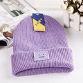 2016 Korean Cubic Smile Beanies Female Knit Beanie Hat Winter Hat For  Women Fashion Elastic Hip-Hop Cap Gorro