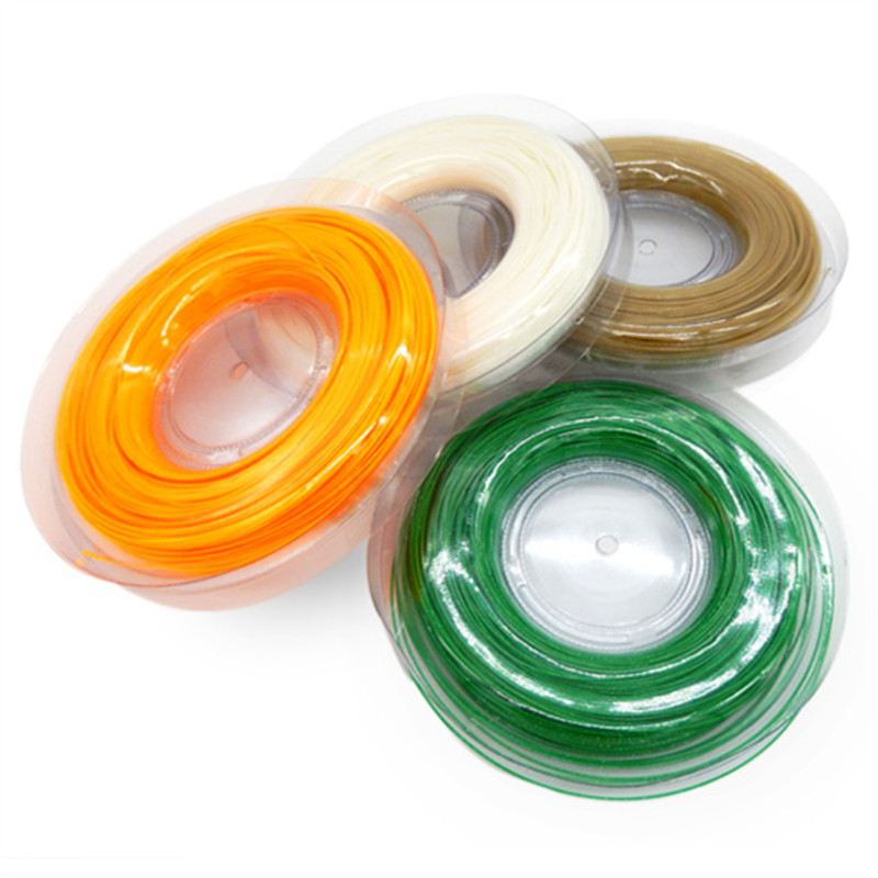 High Quality 200m reel Tennis Line Polyester font b Racquet b font Rough Power String 17G