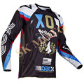 2017 ROHR 360 Camisa Motocross Motocicleta Camisa Moto para MTB DH Mountain Bike Bicicleta Ciclismo Jersey MX Off Road T-Shirt