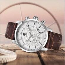 BENYAR Mens Watches Top Luxury Brand Quartz Watch Casual Fashion Men Waterproof/Military/Leather Chronograph