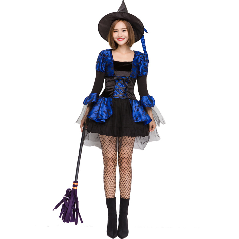 Deluxe Sexy witch Costume Halloween Witch Cute Princess ...