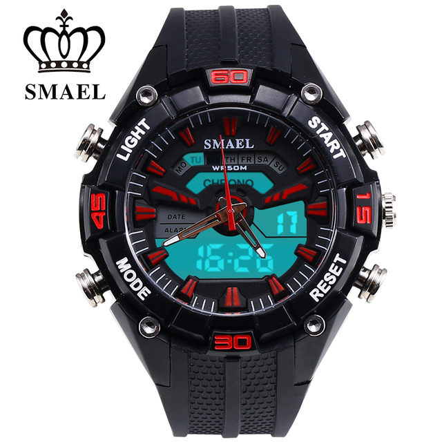 S Shock Digital Watch Sport Quartz Watch Waterproof Men's Wrist Watch mens watches top brand luxury montre homme Clock WS1352