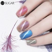 UR SUGAR 7.5ml 3D Cat Eye Magnet UV Gel Nail Polish Glitter Pearl Color Gel Polish Soak Off LED UV Gel Lacquer Manicure Nail Gel