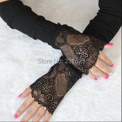 womens fashion long glovess