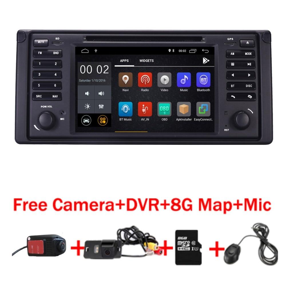 Bmw Xz: Android 8.1 Car GPS Navigation For BMW E39 E53 5 Series 97