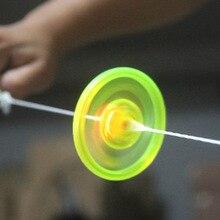 Спиннер-Спиннер светящийся мигающий тянущийся ручной Спиннер антистрессовые игрушки новинка флеш-гироскоп для детских подарочных игрушек
