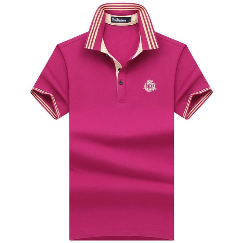 ¡Talla extra! S-10XL 2019 Marca de moda de verano Camisa de hombre para hombre Camisa polo de verano Camisa polos de manga corta T Polo de diseñador