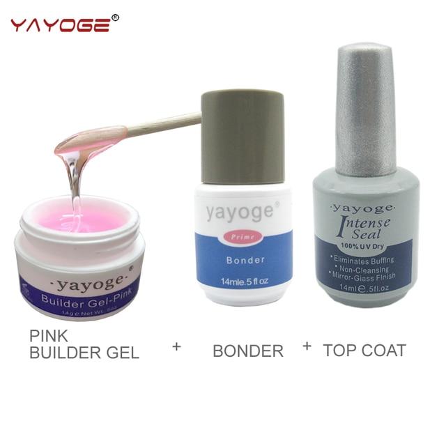 builder gel for nail extensions kit led uv gel varnish set lacquer ...