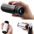 Suporte do telefone móvel shooting10X32 telescópio Monocular, 10 vezes, 10-1000 metros eficaz, BAK4 prisma, a água-à prova de visao monocular