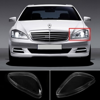 Car Styling Car Headlight Lens For Mercedes S Serie Cover Case For Mercedes Benz W220 S600