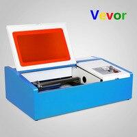 VEVOR завод высокоточных 40 Вт CO2 USB лазерной гравировки резки гравер Дровосек