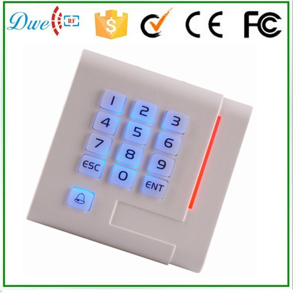 купить DWE CC RF DWE CC RF new design RFID 125khz 12v plastic proximity card reader with keypad по цене 1450.12 рублей