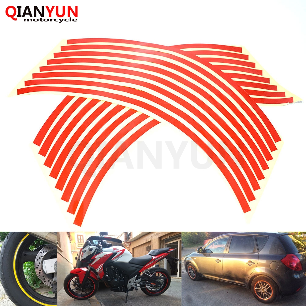 Para z900 z800 z1000 tiras estilo do carro da motocicleta automóveis roda pneu adesivo na borda do carro fita adesivo carro estacionamento acessórios
