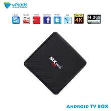 2019 4K Smart TV Box Android 7. Décodeur QuadCore 1G/8G Google 4K USB2.0 décodeur TV Box WIFI Media Player décodeur