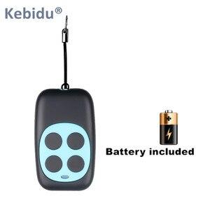 Image 2 - KEBIDU bezprzewodowy 433.92Mhz kod zdalnego sterowania klonowanie 4 przycisk dla bramy garaż drzwi Auto klucz powielacz otwieracz do butelek