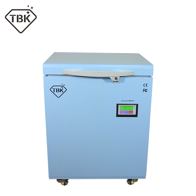 TBK Newest Professional Mass 180C LCD Touch Screen Freezing Separating Machine LCD Panel Frozen Separator Machine