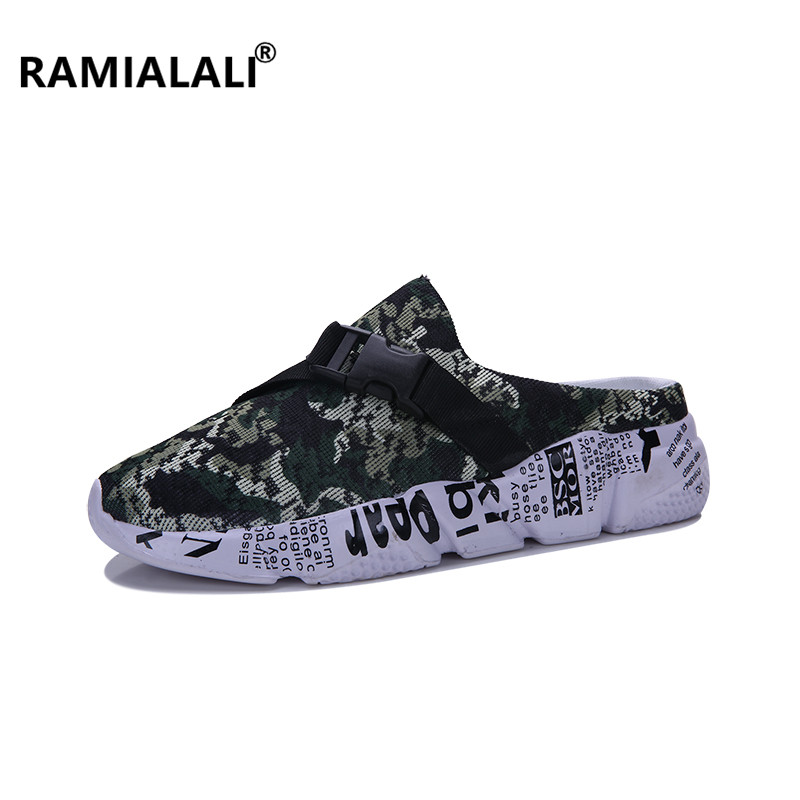 Casual Ramialali Sandalias Sandales Confortable De Gris D'été Plein Plage En vert rouge Chaussures Marche Sur Slip Pantoufles Hommes Air wqCrqFZI
