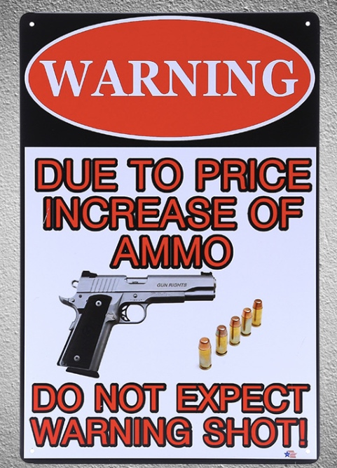 1 piece Warning shot Gun no trespassing sign Tin Plate Sign wall Room man cave Decoration Art Dropshipping Poster metal