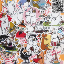30 pcs Cartoon horse and owner stickers for Home decor on phone book macbook laptop sticker decal fridge skateboard doodle toy(China)