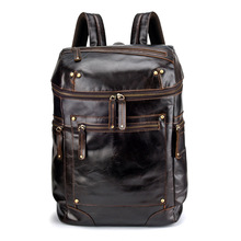 0395b88442 Buy backpack men genuine leather and get free shipping on AliExpress.com