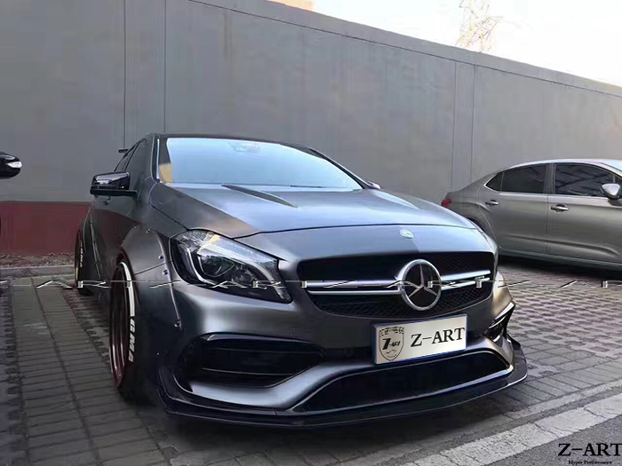 Z ART wide body kit for A45 AMG 2014 2018 tuning body kit