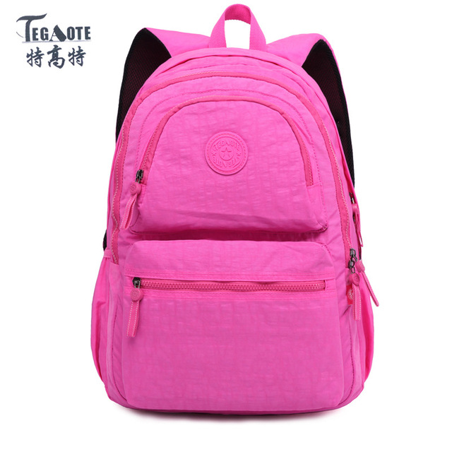 1a750772f3 TEGAOTE Backpack Women Fashion School Backpack for Teenage Girls Mochila  Feminina Escolar Bolsa Travel Backpack Female Sac A Dos