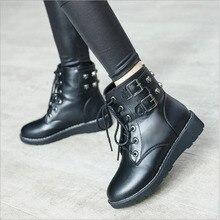 Hot Women Sneakers  Breathable Waterproof Platform Vulcanize Shoes Woman Pu Leather Casual tenis feminino