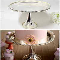 High fashion cake pan fruit pallet afternoon tea snack rack cake stand decorating tools