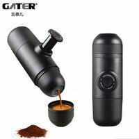 GATER Manual Coffee Maker Ltalian Espresso Mini Manually Pressure Coffee Machine Outdoor Travel Portable Filter Coffee