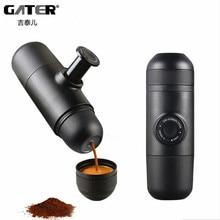 GATER Minipresso Manual Coffee Maker Outdoor Travel Portable Filter Coffee Pot Espresso Manually Pressure Mini Coffee Machine