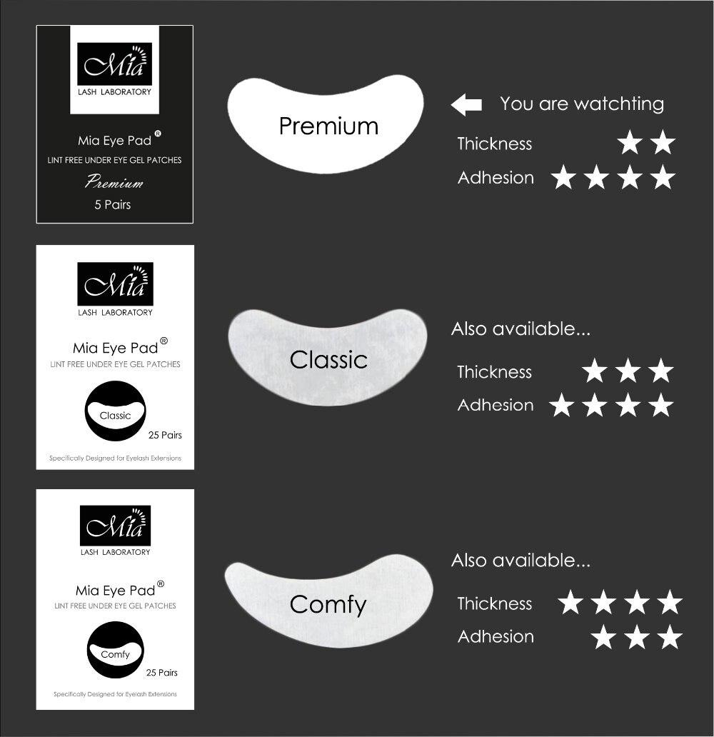 5 pares de luxo premium extensao dos 04