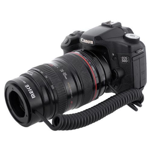 Meike MK-C-UP Auto Macro Tube d'extension AF adaptateur inverse pour appareil photo reflex numérique Canon - 2