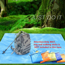 Compare Prices Bluefield 3m Camping Mat Mattress Outdoor Picnic Beach Mat Tent mat Blanket with Storage Bag Waterproof Moisture-proof Portable