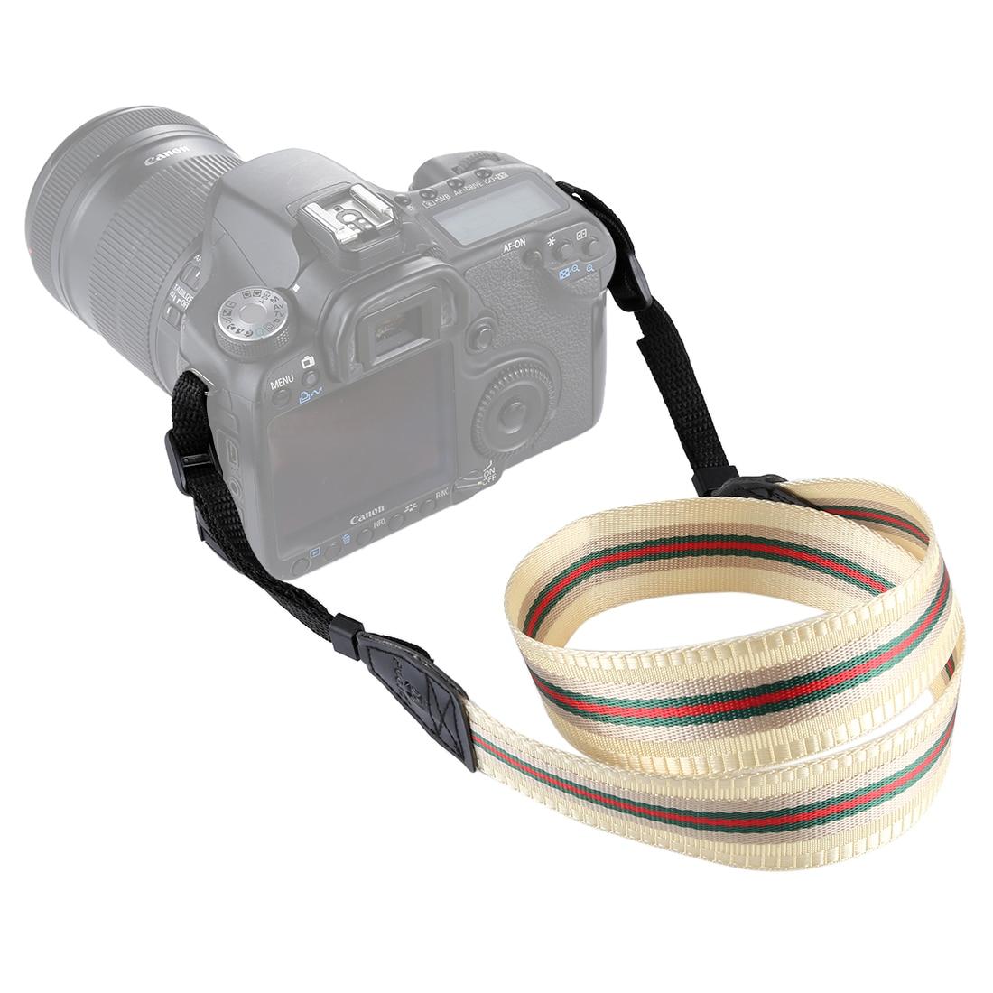 Ethnic Style Photo Camera Colorful Strap Cotton Yard Pattern Neck Strap DSLR Shoulder Hand Strap for Canon Nikon