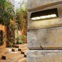 Modern Outdoor Sconce Waterproof Wall Lamp led Exterior Light Courtyard Garden Lamps Outdoor Lighting led Outdoor Wall Lights