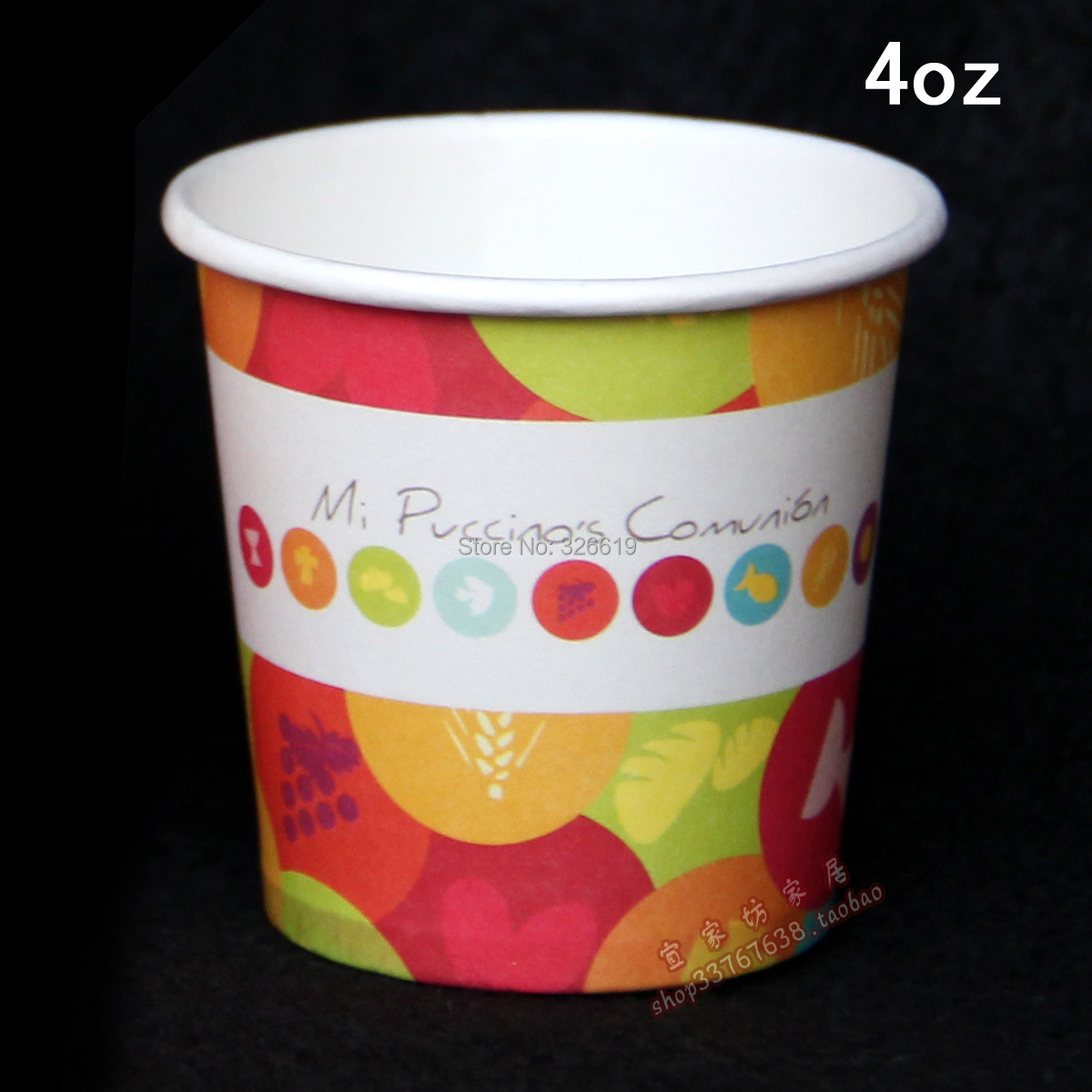 free shipping new arrival disposable thickening espresso paper cup