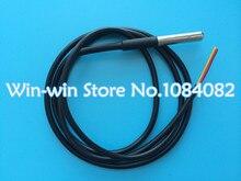 20pcs Stainless steel package Waterproof DS18b20 temperature probe temperature sensor 18B20(China (Mainland))