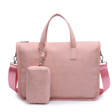 2018 Fashion PU New Style Waterproof Laptop Shoulder Bag 15 14 13 3 13 Inch Notebook