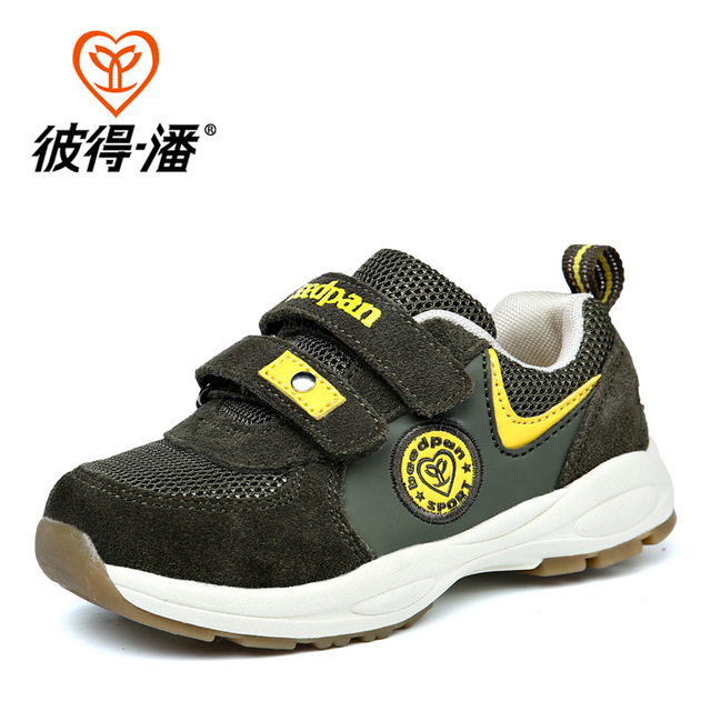 14.5cm-18.5cm Breathable Kids Sneakers Baby Walking Shoes Boys Girls Sport Shoes Baby Walking Shoe Genuine Leather Spring Summer