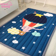 Infant Shining Baby Play Mat Children Folding Game Carpet Kids Crawling Mats Anti-skid Tatami Rugs Cotton Blanket For Children цены онлайн