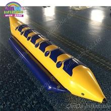 Unicorn Inflatable Banana Boat Sit On Top Plastic Kayak Boat ,Inflatable Boat Fishing Equipment Boat Motors Flying Towables